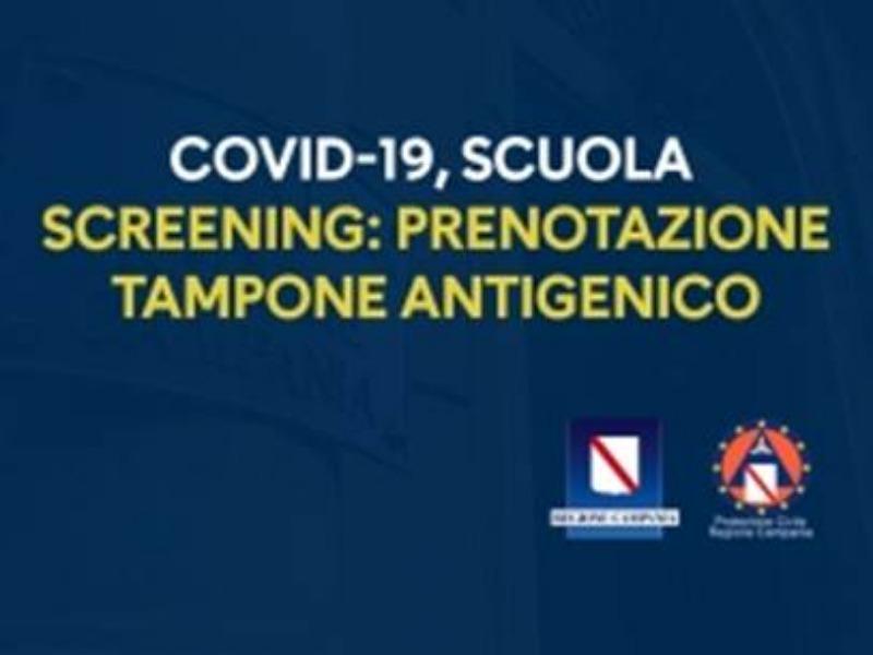 COVID-19 SCREENING-SCUOLA